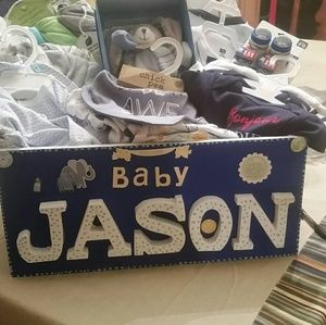 Personal basket for girls and boys